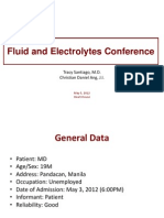Electrolytes Conference 050512