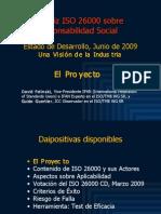 ISO 26000 (1) El Proyecto 2009-06n