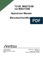 10580 00175 de J MS272xB SpectrumMaster UG