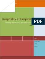 Hospitality in Hospitals Sim