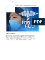 Preventive Measures and Natural Cures Against the Swine Flu
