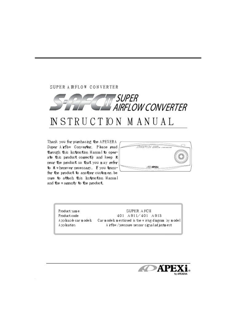 Fantastic Apexi Rsm Wiring Image Collection - Wiring Schematics and ...