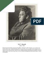 NC Wyeth Artist Study