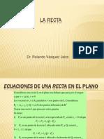 Vectores2 Ec Recta