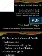 chp 13 the last things - notes