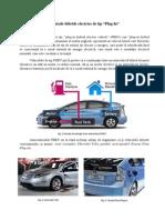 Vehicule Hibride de tip PHEV