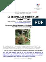2.Le Seisme, Les Sols Et Les Fondations