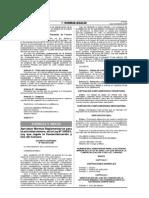 DS045-2013-EM Reg regula la comercialización y uso de cianuro