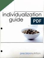 Precision Nutrition Individualization Guide