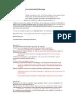 Análise de questões prova FUNRIO INSS 2013 Psicologia