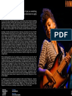 Esperanza Spalding One Sheet