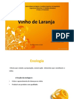 vinho laranja - apresentação