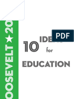 10 Ideas for Education, 2009