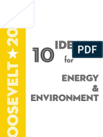 10 Ideas for Energy & the Environment, 2009