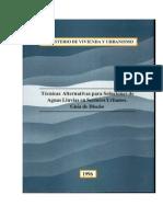 Técnicas alternativas para soluciones de aguas lluvias en sectores urbanos_MINVU