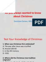 All You Always Wanted to Know About Christmas