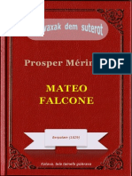 Mateo Falcone, ke Prosper Mérimée