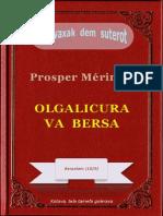Olgalicura va bersa, ke Prosper Mérimée