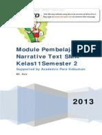 Narrative Text Kelas2sma-Materi