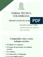 Norme tecnica colombiana