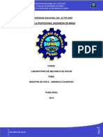 Informe de Laboartorio de Mecanica de Rocas - Copia