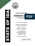 Vendor Guide