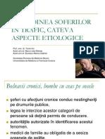 Atitudine Soferi in Trafic-Aspecte Etiologice