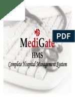 Medigate HMS