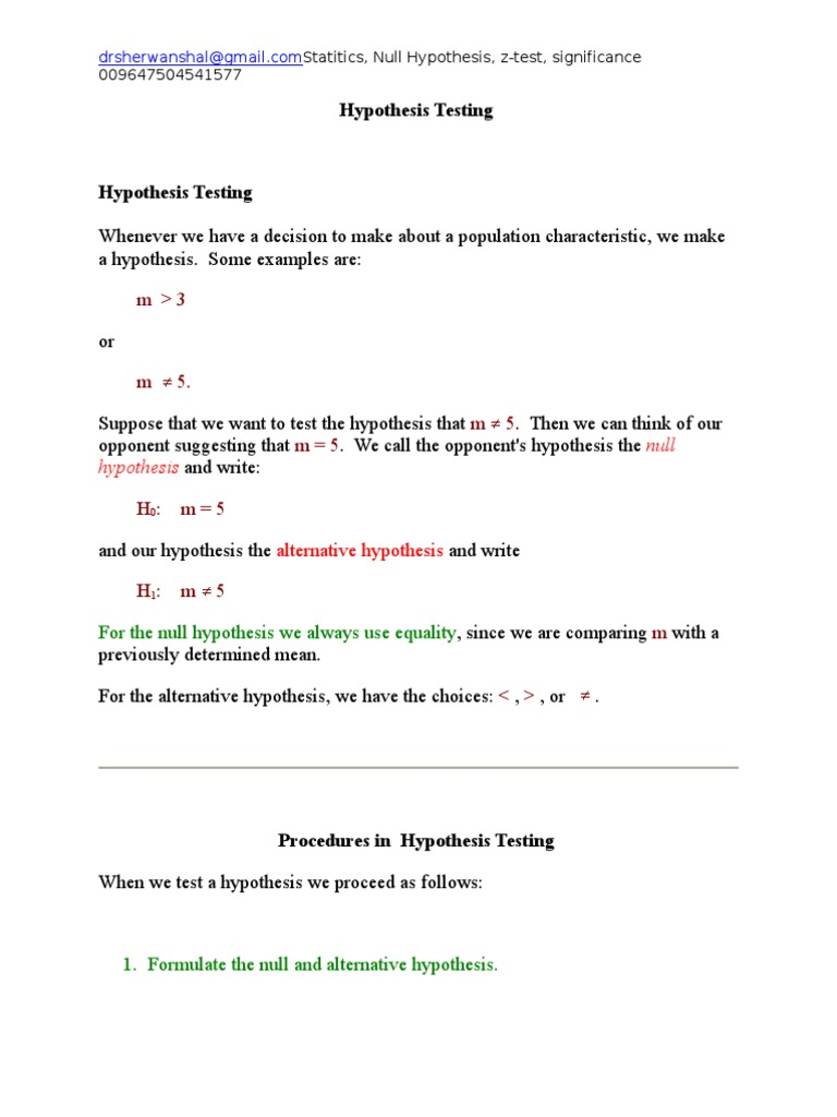 Statistical Significance Hypothesis Statistical Hypothesis Testing Statistical Significance [ 1024 x 768 Pixel ]