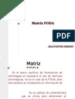 Matríz FODA JFermin