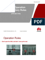 1-06 ODU Operation Mandatory Rules