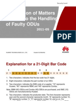 Guide on How to Return Faulty ODUs