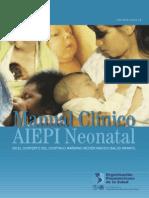 AIEPI neonatal - Manual clínico