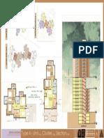 MIG UNIT PLANS-SECTIONAL ELEVATION