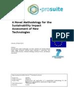 A Novel Methodology for the Sustainability Assessment of New Technologies