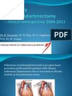 Pulmonary Tromboendarterectomy