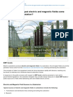 Electrical-Engineering-portal.com-Where Do the Strongest Electric and Magnetic Fields Come From in a Power Substation
