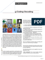 Reasoning4exams.blogspot.in Understanding Coding Decoding