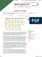 Lo difícil de hacer ciencia en A. Latina _ ELESPECTADOR