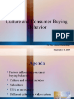 Consumer and Culture