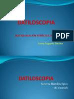 Datiloscopia - Anne Augusta Simões