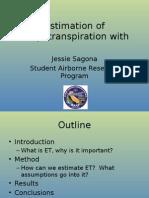 Jessie Sagona SARP Presentation