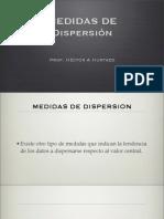 (6) Medidas de Dispersión