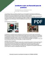 090304 El 91 Por Ciento de Los Accidentes a Pie Son Fuera Del Paso de Peatones