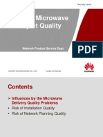Risks of Microwave Project Quality-20100823-A
