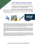 090314 Consejos prácticos para algunas herramientas manuales