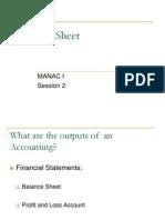 Balance Sheet Part1