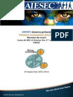 AIESEC résumé cours histoire économique générale