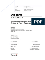 Nrc Report - Aerodynamics Report a3578 May 2012 Eng
