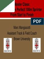 Building a Sprinter